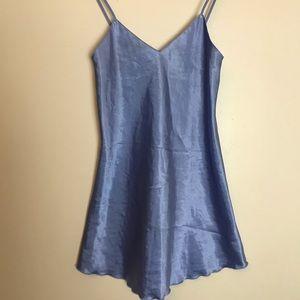 Blue babydoll chemise